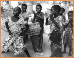 Zalisa dances the fiyen ka bo (the air must exit) dance
